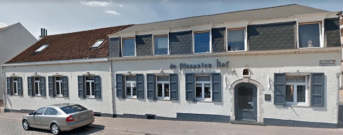 Restaurant De Plezanten Hof in Kobbegem buitenaanzicht