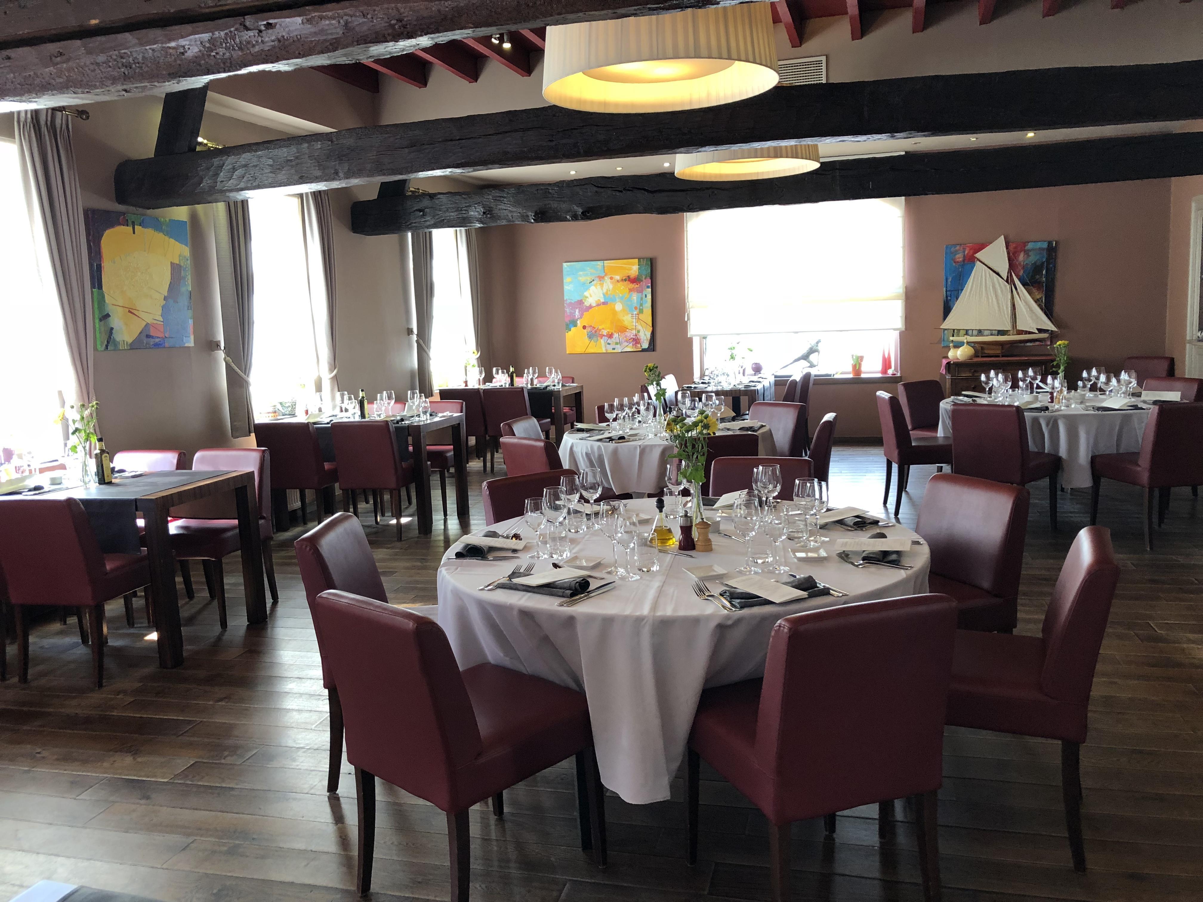 Lekker eten in restaurant De Plezanten Hof te Kobbegem. Waar tafelen top is.