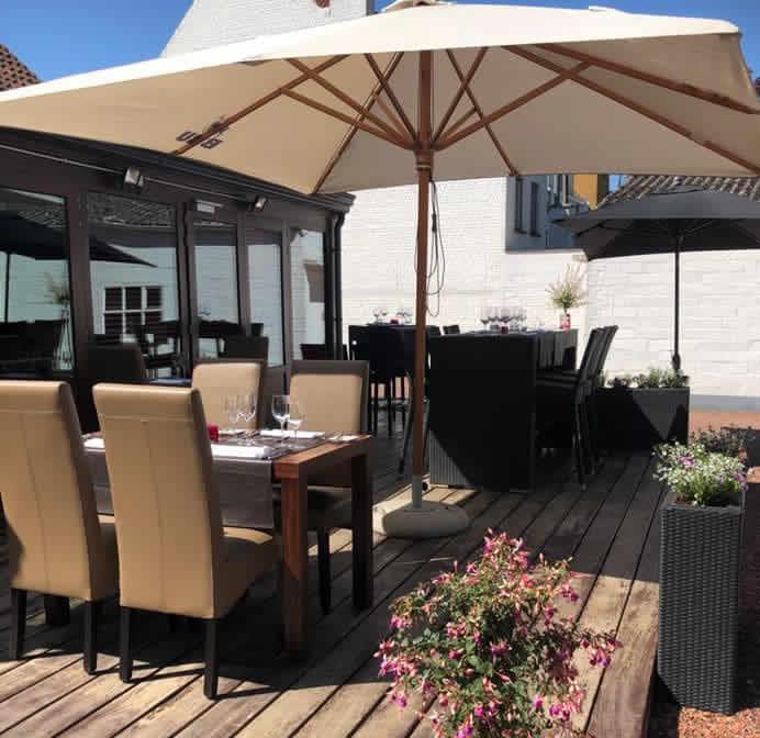 Terras restaurant De Plezanten Hof